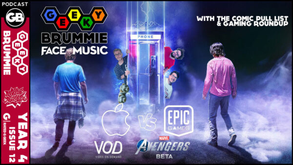 Year 4 – Issue 12 of The Geeky Brummie Podcast!
