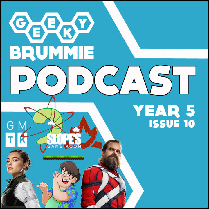 Year 5 – Issue 10 of The Geeky Brummie Podcast!