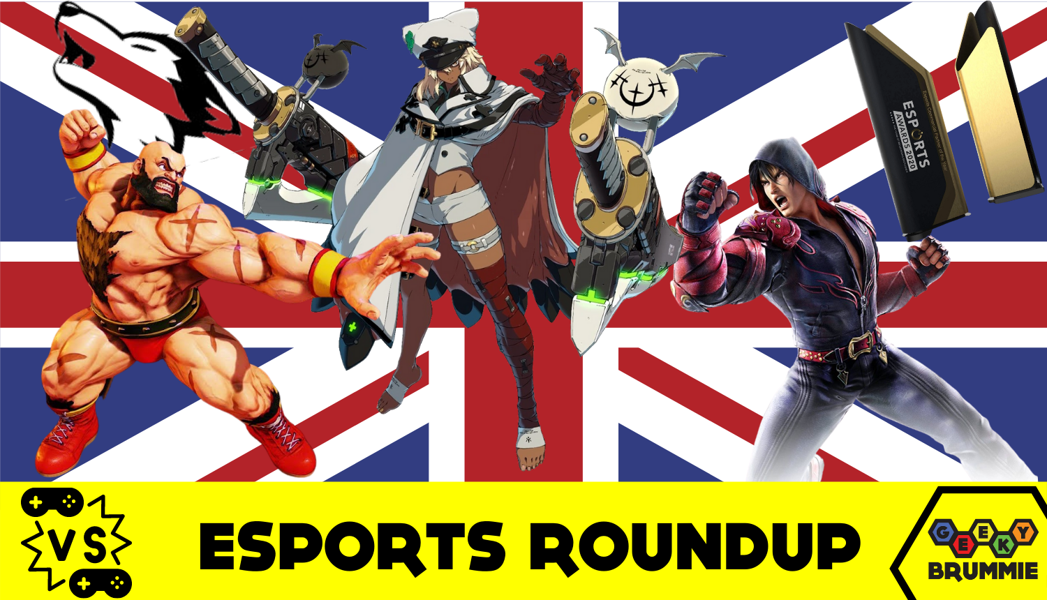 Esports Roundup – UK Talent Represented in Global Awards